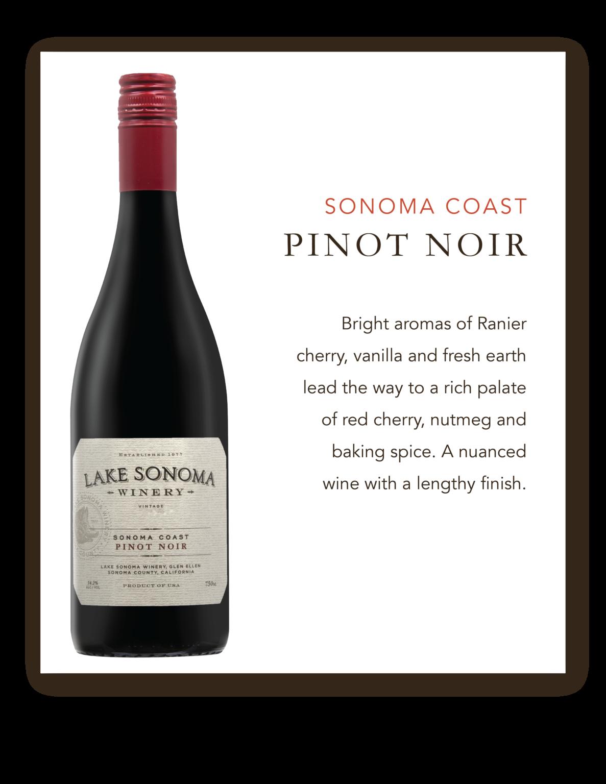 Lake Sonoma Pinot Noir